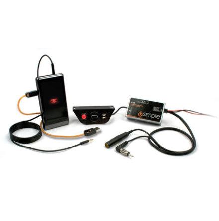 FM MODULATOR USB CHARGING 3.5 TO 3.5 DASH OR MOUNT FACE