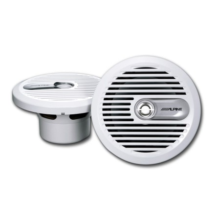 "Alpine Marine Coax speaker 6 1/2"" White"