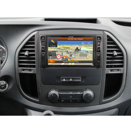"""""""8"""""""" Alpine Style Navigation System for Mercedes Benz Vito 4"""