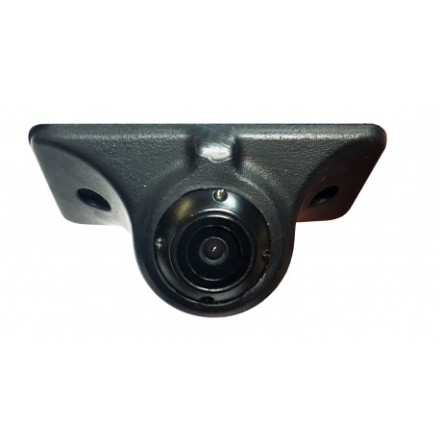 Self-adhesive mounting blind spot camera with flexible hous