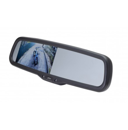 """""""""""""""4.3"""""""""""""""" Factory Mount Mirror Monitor with built in Blueto"""