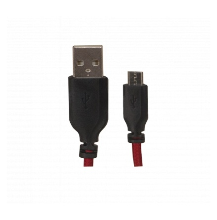 1M AUX cable with weave
