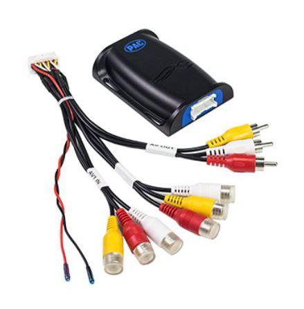 2 A/V in 1A/V ut switcher