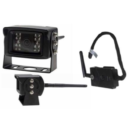 Trådlös kamera med mottagare