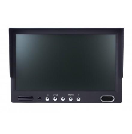 """Echomaster 7"""" Dash Mount Dual Input Monitor"""