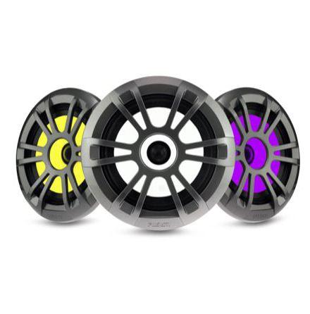 """Fusion EL Series v2 6.5"""" Speaker Sports Grey with RGB LED"""
