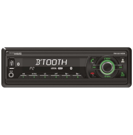 Maskinradio Heavy Duty utan CD med BT