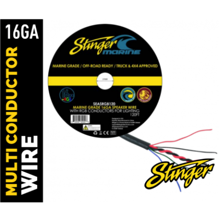 Stinger 1,5mm2 Speaker Wire + 0,8mm2 Control Wires