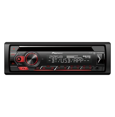 Pioneer 4x50W,MP3/WMA,Bluetooth,USB,ipo