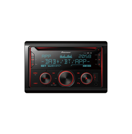 Pioneer 2DIN CD/Radio,Mixtrax,MP3/WMA,DAB