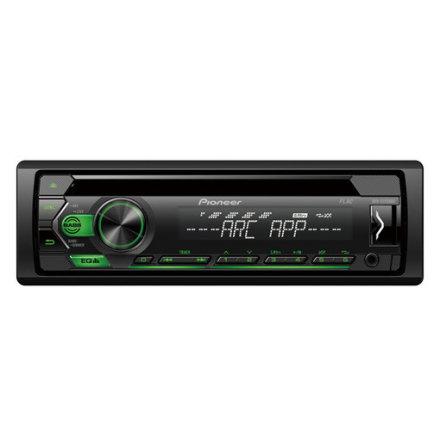 Pioneer 4x50W,MP3,AUX,USB,Grön knapbelysning