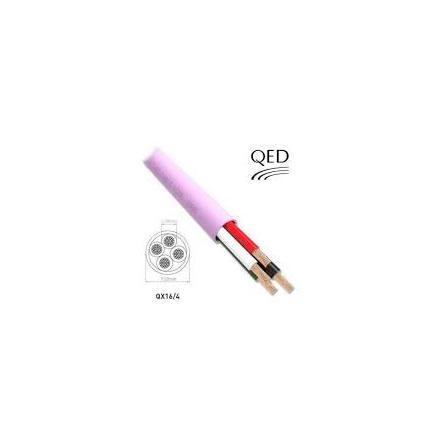 QED QX16/4 300M PINK LSZH REEL