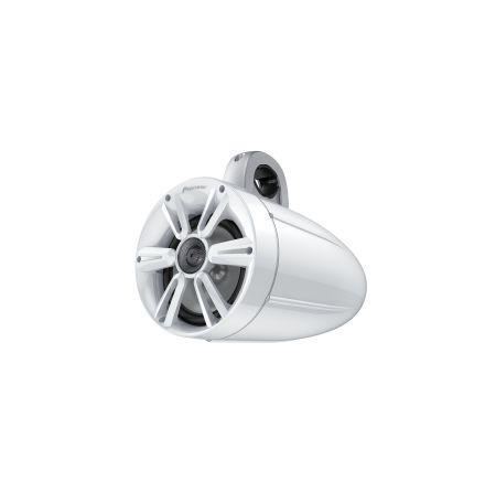 "7,7"" Marine tower speaker with RGB light white"
