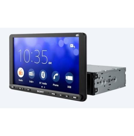 "Sony Multimedia - 9"" 1DIN Maskin med CarPlay,BT,DAB"