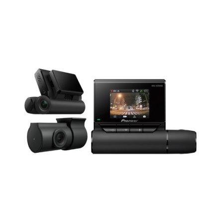 2-kanals (fram och bak) bilkamera, full HD, 27,5 fps.