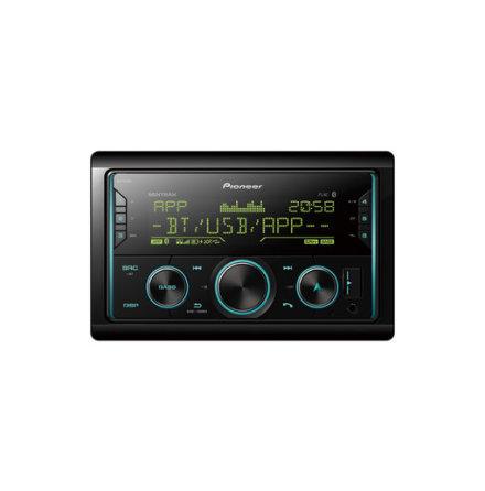 Pioneer 4x50W, USB,iPod,Aux,Blåtand