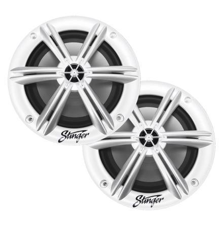 """Stinger 6.5"""" White Marine Coax"""