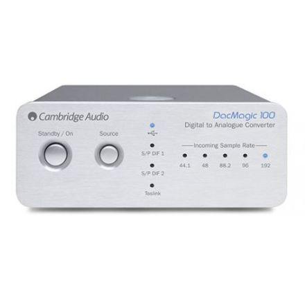 Cambridge Audio Digital DacMagic 100 Silver Universal UK/EU/