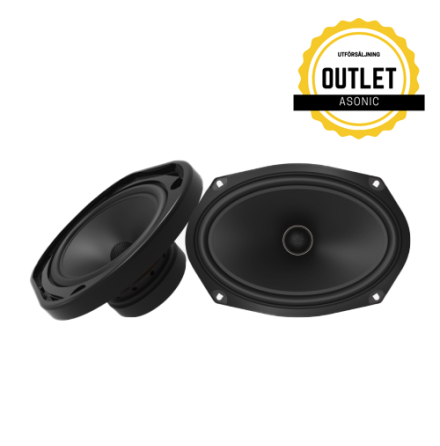 """PG MX 6 x 9"""" Dual Concentric Coaxial Speaker"""